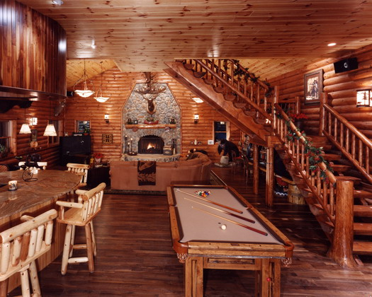 Log Cabin Interiors Quotes